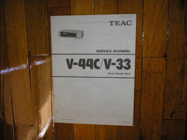 V-33 V-44C Cassette Deck Service Manual