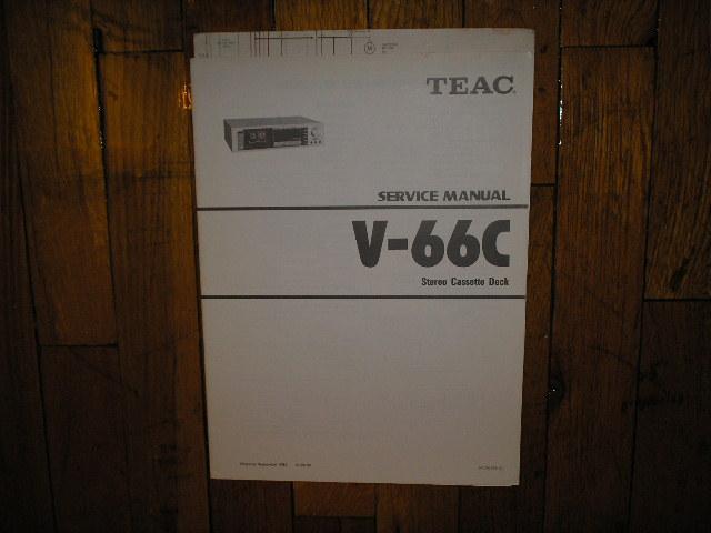 V-66C Cassette Deck Service Manual