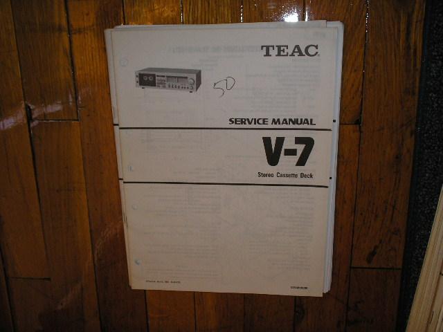 V-7 Cassette Deck Service Manual