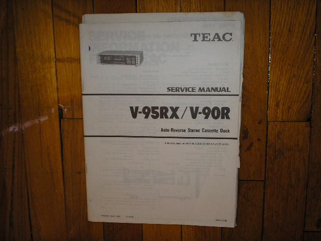 V-90R V-95RX Cassette Deck Service Manual