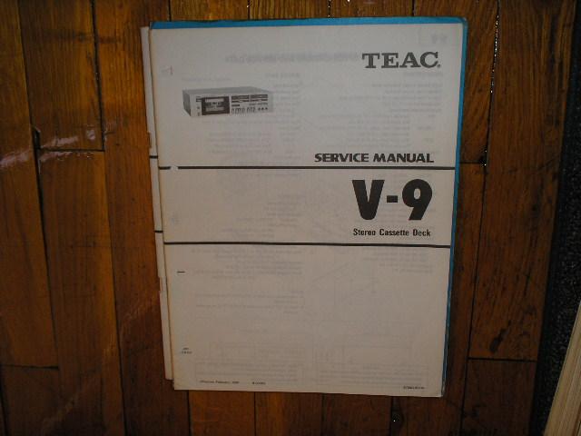 V-9 Cassette Deck Service Manual