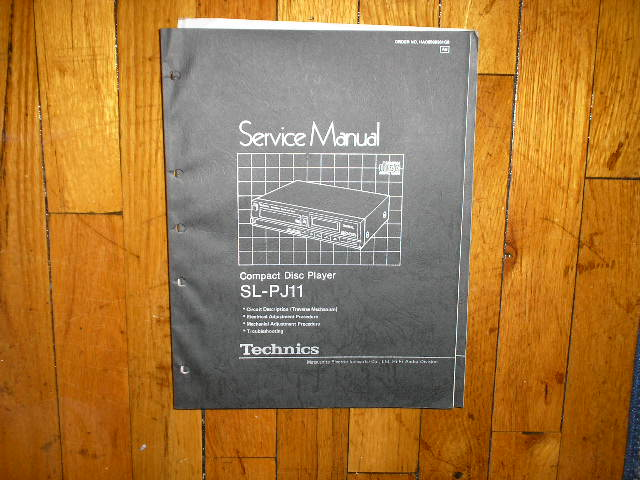 SL-PJ11 CD Player Technical Service Manual