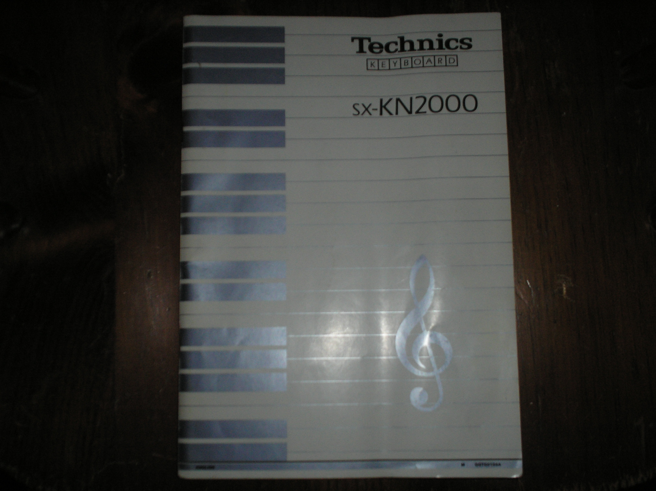SX-KN2000 PCM Keyboard Operating Instruction Manual. 120 pages.