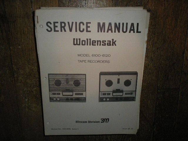 6100 6120 Reel to Reel Service Manual