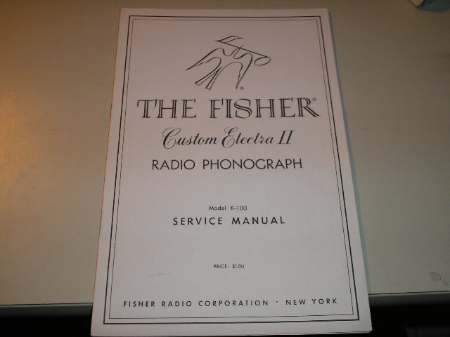 K-14 Service Manual  Fisher