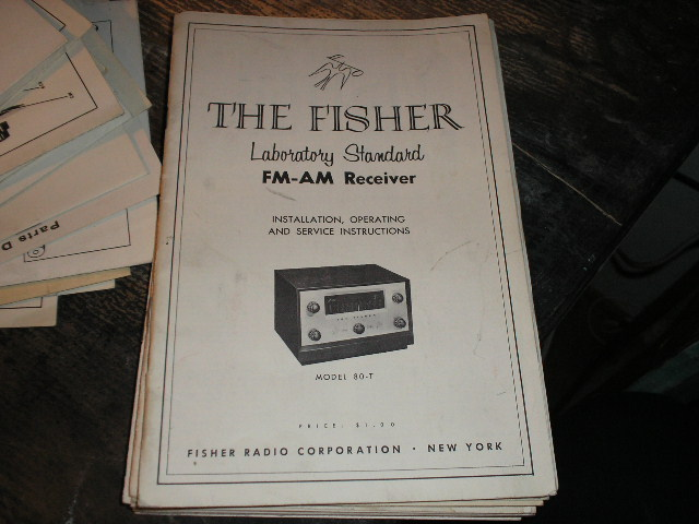 80-T Tuner Owners Service Manual  Fisher