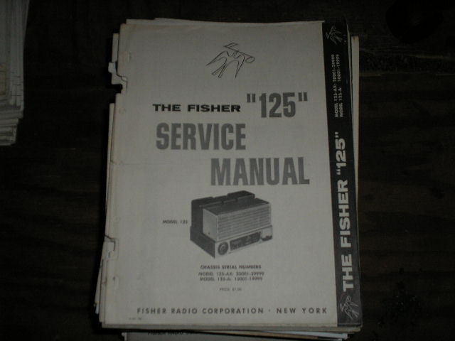 125-A Amplifier Service Manual for Serial no. 10001 - 19999 