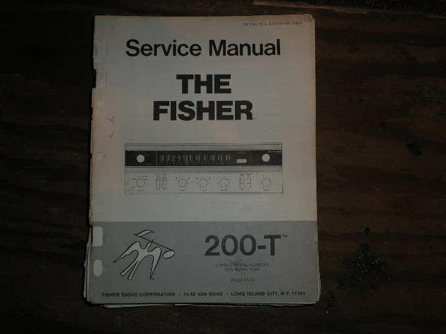 200-T Receiver Service Manual