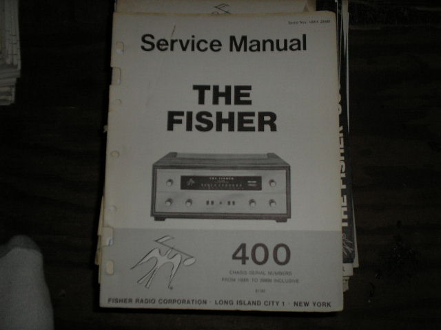 400 Receiver from Serial no. 10001 - 29999