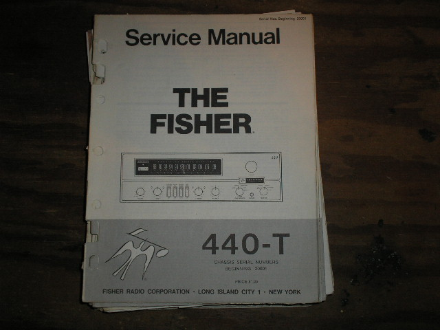 440-T Receiver Service Manual from Serial no. 20001
