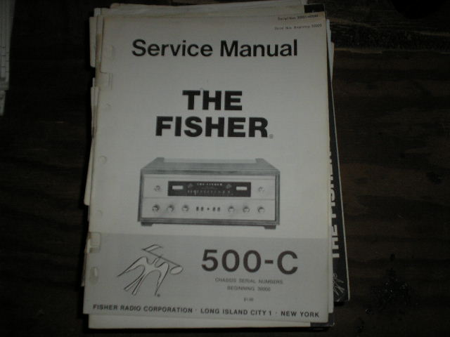 500-C Receiver Service Manual from Serial no. 30000
