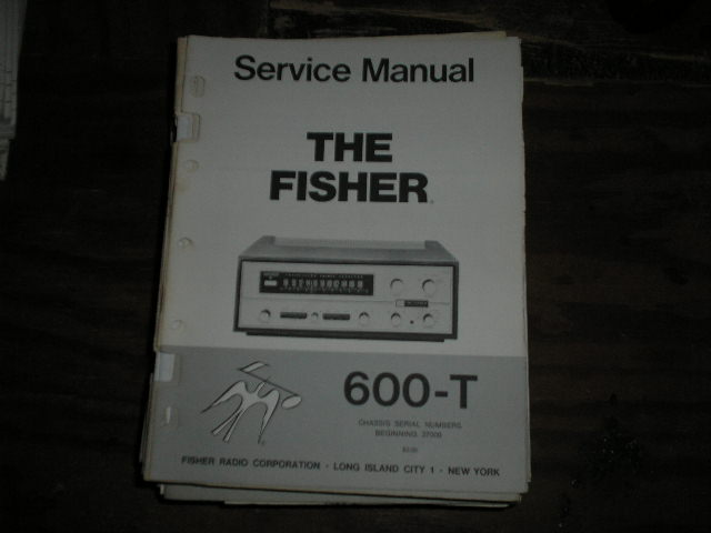 600-T Receiver Service Manual from Serial no. 37000 - 38999