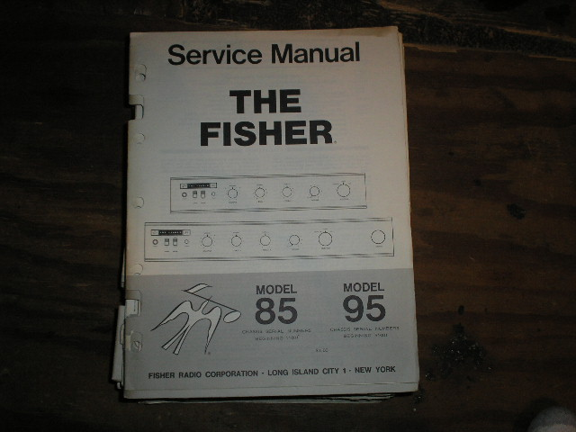 85 95 Amplifier Service Manual 85 for Serial no. 11001 and up  95 for Serial no. 51001 and up
