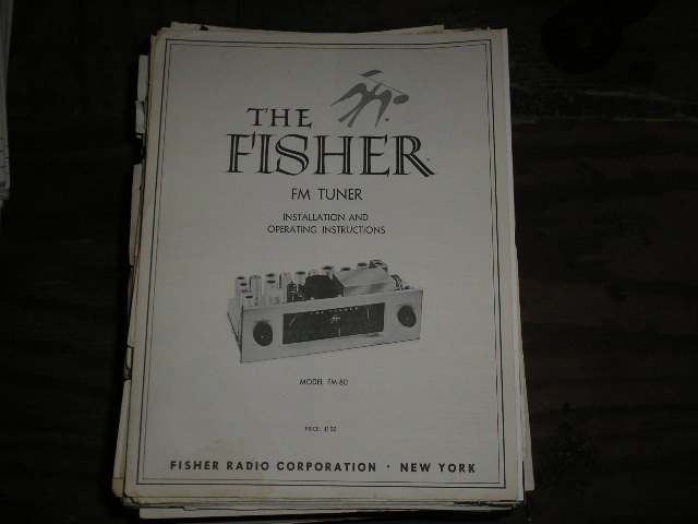 FM-80 Tuner Service Manual 1  Fisher