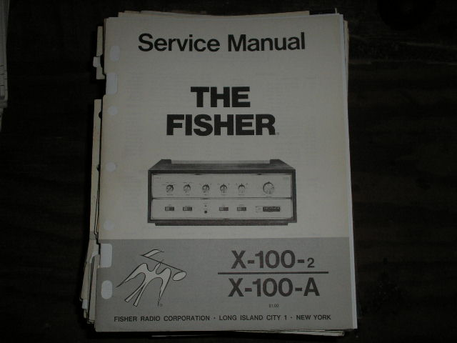 X-100-2 X-100-A Control Amplifier Service Manual for Serial no. 10001 - 19999