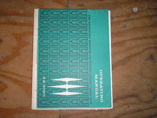 4310 Tuner Operators Manual  Scott