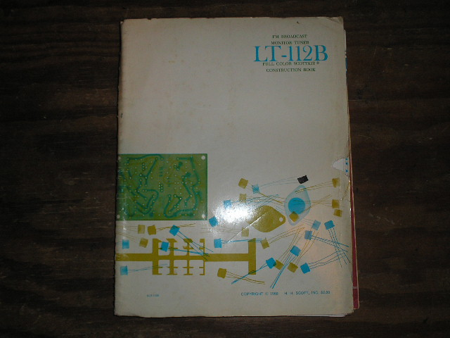 LT-112B Tuner Assembly Manual  Scott