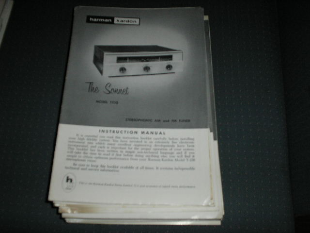 T230 Tuner Service Manual  Harman Kardon