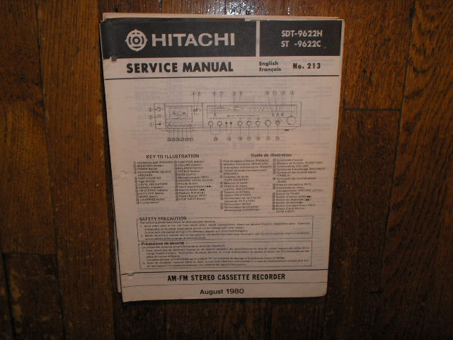 SDT-9622C SDT-9622H  Stereo System Service Manual