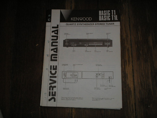 BASIC T 1 BASIC T 1L Service Manual  Kenwood