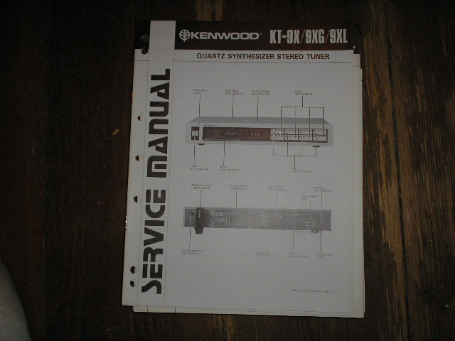 KT-10 Tuner Service Manual  Kenwood
