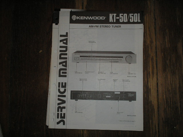 KT-50 KT-50L Tuner Service Manual  Kenwood
