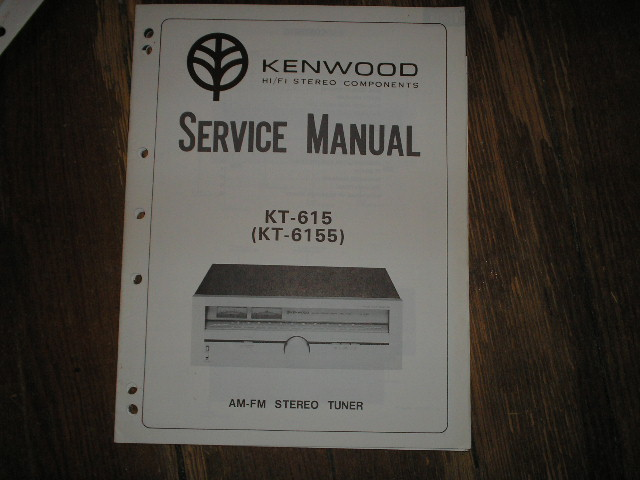KT-615 KT-6155 Tuner Service Manual  Kenwood
