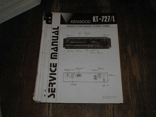 KT-727 KT-727L Tuner Service Manual  Kenwood