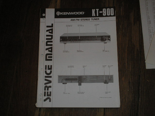KT-900 Tuner Service Manual  Kenwood