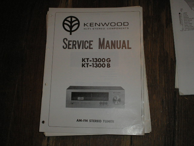 KT-1300G K-1300G Tuner Service Manual  Kenwood