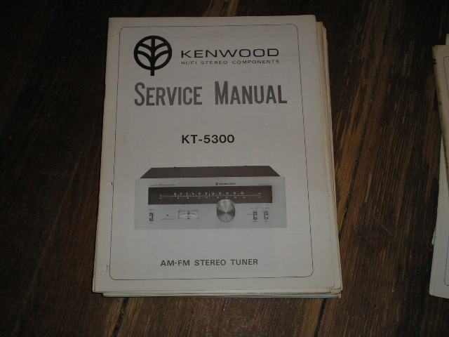 KT-5300 Tuner Service Manual  Kenwood