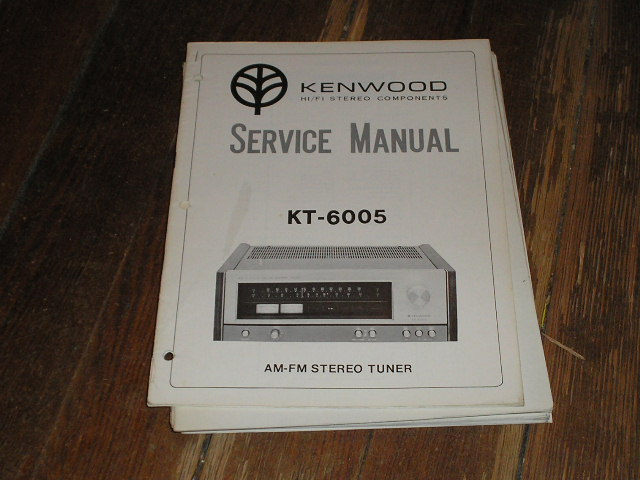 KT-6005 Tuner Service Manual  Kenwood