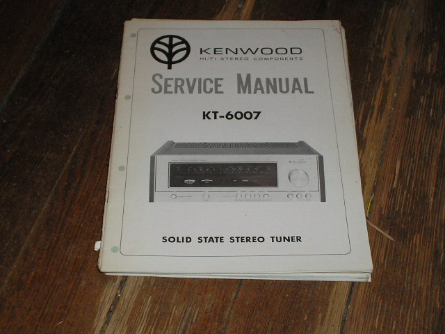 KT-6007 Tuner Service Manual  Kenwood