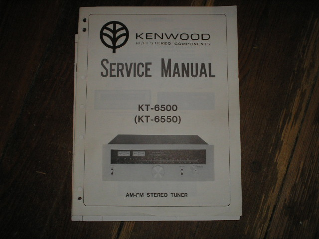 KT-6500 KT-6550 Tuner Service Manual  Kenwood
