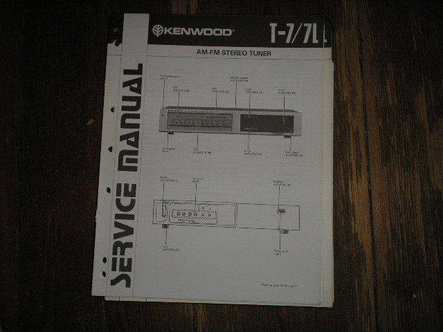 T-7 T-7L Tuner Service Manual  Kenwood