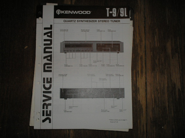T-9 T-9L Tuner Service Manual  Kenwood