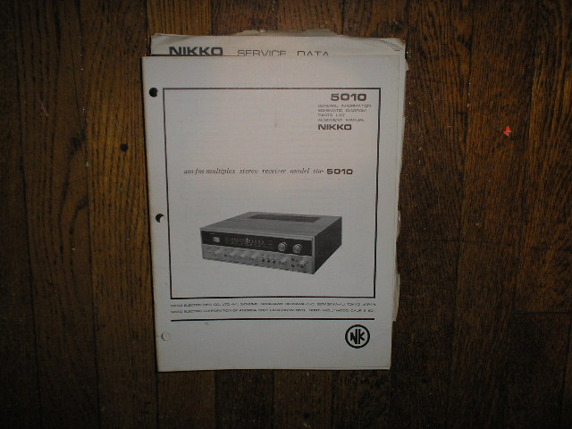 STA-5010 AM FM Stereo Receiver Service Manual with Schematic
