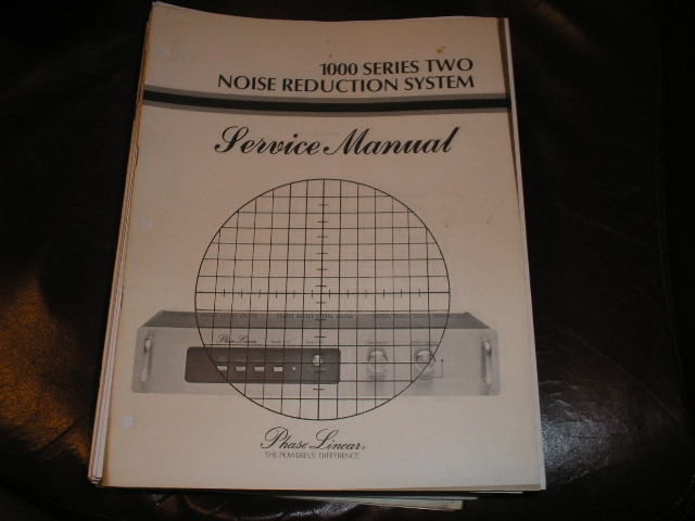 1000 Series Two 2 Noise Reduction Unit Service Manual