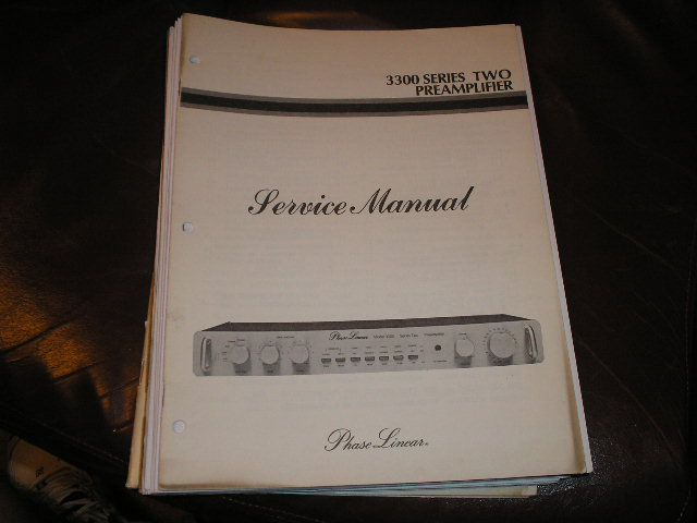 3300 Series 2 Pre-Amplifier Service Manual  Phase Linear