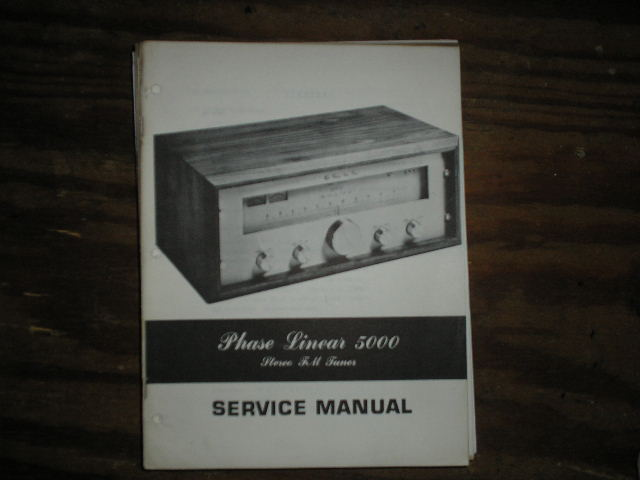 5000 Tuner Service Manual  Phase Linear