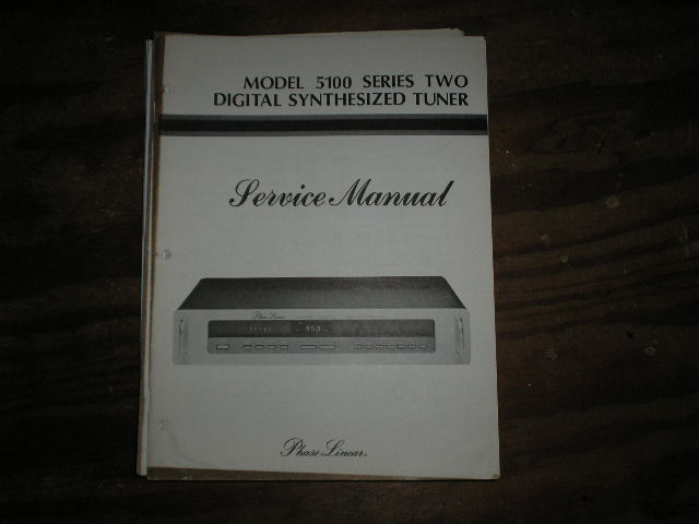 5100 Tuner Service Manual  Phase Linear