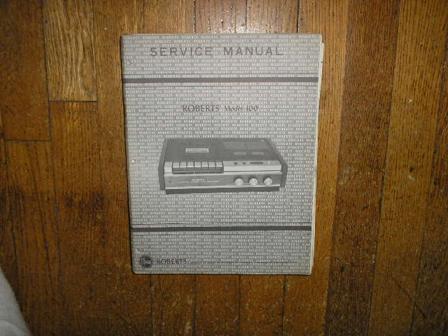 100 Stereo Cassette Tape Deck Service Manual