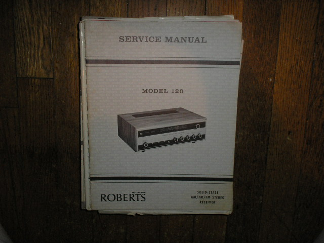 120 Stereo Receiver Service Manual