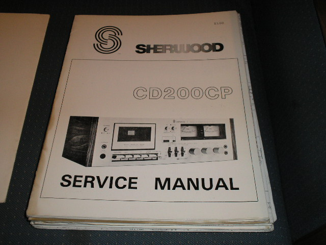CD200CP Cassette Deck Service Manual