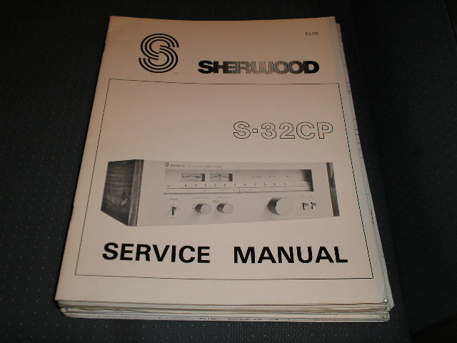 S-32CP Tuner Service Manual  Sherwood