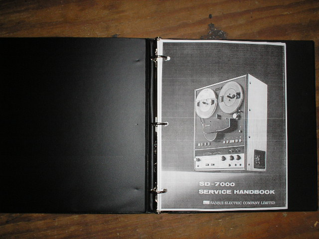 SD-5000 Reel To Reel Service Manual  Sansui