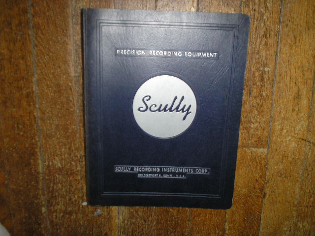 270 Reel to Reel Recorder Service Manual  SCULLY