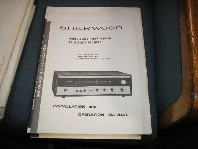 S-7050 Stereo Receiver Installation Manual and Schematic