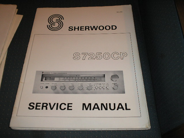 S-7250CP Stereo Receiver Service Manual
