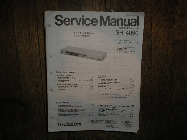 RS-1506US Reel to Reel Owners Operating Insruction Maual  TECHNICS